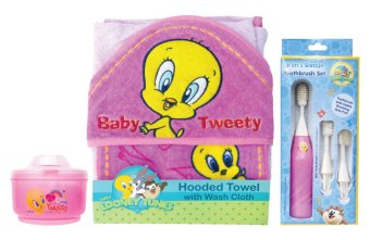 Looney Tunes Savers Pack Bathing Gift Set 2 For Girls