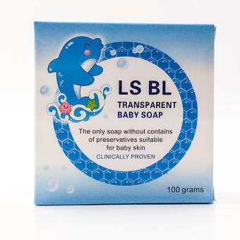 LS BL transparent baby soap 100gms set of 2 boxes Price Philippines