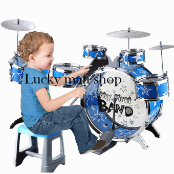 Lucky man Children Kids Educational Toy Rock Drums SimulationMusical Instruments Price Philippines