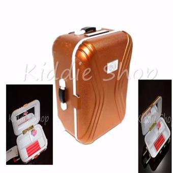 LUGGAGE/SUIT CASE MUSIC BOX/JEWELRY BOX(GOLD) Price Philippines