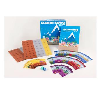 Machi Koro City Building Card Dice Game
