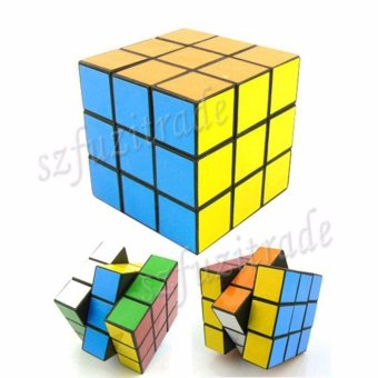 Magic Cube Smooth 3x3x3 Competition Speed Pro Rubix Rubics Puzzle -intl