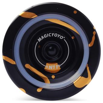 Magic YOYO N11 Yoyo Ball Black & Floating (Gold) - intl - 2