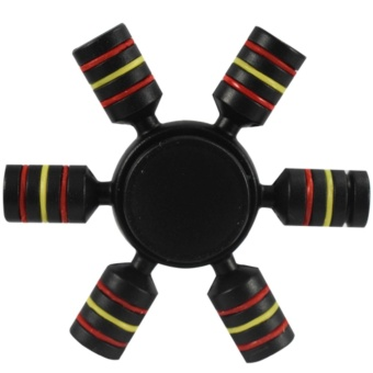 Magicfly 6 Sided Fidget Spinner (Black)
