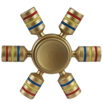 Magicfly 6 Sided Fidget Spinner (Gold)