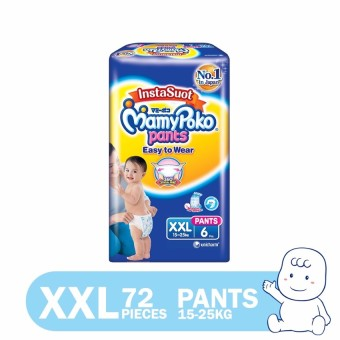 MamyPoko Easy to Wear Diaper Pants XXL 6's Pack of 12