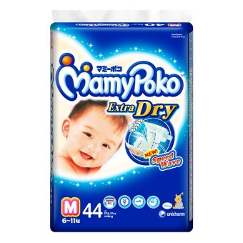 MamyPoko Extra Dry Diaper M, Pack of 44