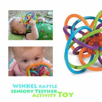 Manhattan Toy Winkel Rattle and Sensory Teether - 2