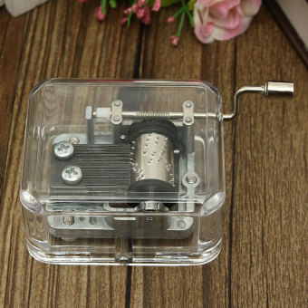 Many Songs Antique Sewing Machine Mechanical Music Musical BoxValentine Gift (Intl) (Intl) - 2