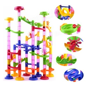 Marble Run Race Children Building Construction Blocks Creative Game