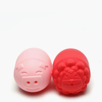 Marcus & Marcus Lion and Pig Silicone Bath Toys