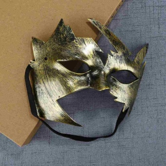 Masquerade Small Maple Leaves Mask Stunning Dress Fancy Party Event New Style - intl