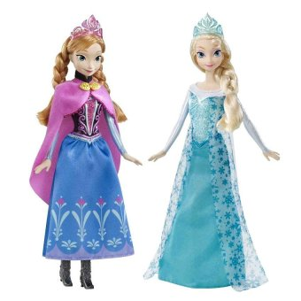 Mattel Frozen Elsa and Anna Classic Dolls Set Price Philippines