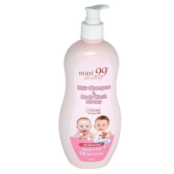 Maxi 99 Hair Shampoo & Body Wash for Baby 500ml