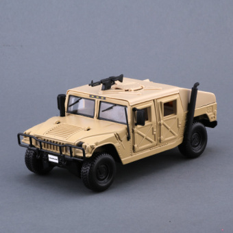 Mei Chi figure H2 model alloy car model off-road car