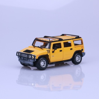 Mei Chi figure H2 off-road model alloy car model