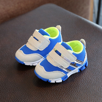 Mesh breathable female baby soft bottom shoes Baobao sports shoes