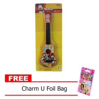 Mickey and Friends Guitar 585 with Free Charm U Foil Bag Price Philippines