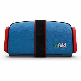 MiFold Grab-n-Go Booster Seat - Denim Blue