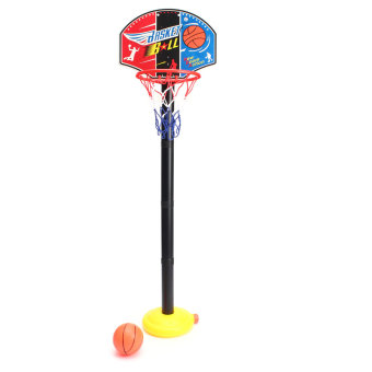 Mini Basketball Net Game Hoop Ring With Ball Basket Fun Office Indoor Toy Gift Portable Easy to use - intl