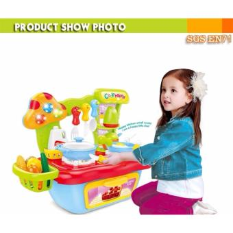 Mini kids kitchen set toys 889-55, play kitchen, Kid craft kitchen, children kitchen toy set, kitchen kit toys Toys Collection