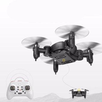 Mini RC 2.4GHz 4CH 6-Axis Gyro 3D UFO Drone Black - intl Price Philippines