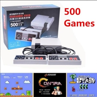Mini TV Handheld Game Console Video Game Console For Nes Games with500 Different Built-in Games PAL&NTSC(EU) - intl