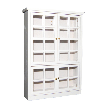 Miniatures Furniture Kitchen Dining Room Carbinet Display Shlef White