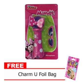 Minnie Mouse Microphone 544 (Rose color) with Free Charm U Foil Bag Price Philippines