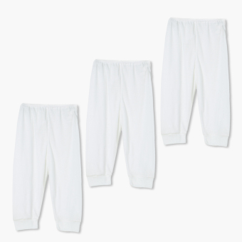 Minnies' & Mimi 3-piece Pajama Set (White) Price Philippines