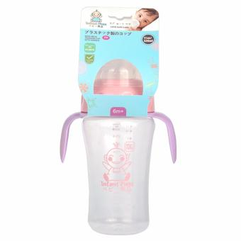 MMC Baby Drinking Bottle Children Training Transition Water CupsWith Handles 3715 -Pink