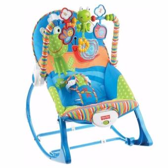 MMC Fisher-Price Infant-to-toddler Rocker -Blue Price Philippines