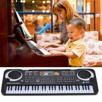 Modern 61 Keys Digital Music Electronic Keyboard Key Board Gift Electric Piano Toys for Children kids Baby - intl