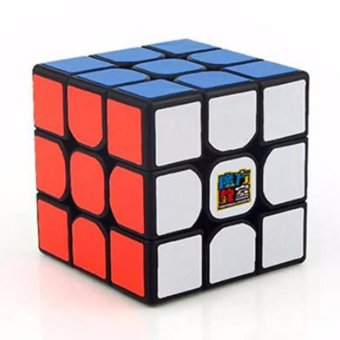 MoFang JiaoShi MF3RS 3x3x3 Rubik's Cube Brain Teasers Speed MagicCube Puzzles MF8810 Black Body