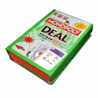 Monopoly Card Hard Box 132 Cards