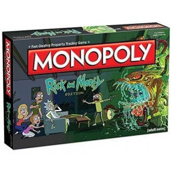 Monopoly Rick & Morty Board Game - intl