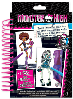 Monster High Fashion Angels Mini Sketch Book Price Philippines