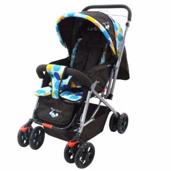 MoonBaby Stroller CB8011 (Blue Design) Price Philippines