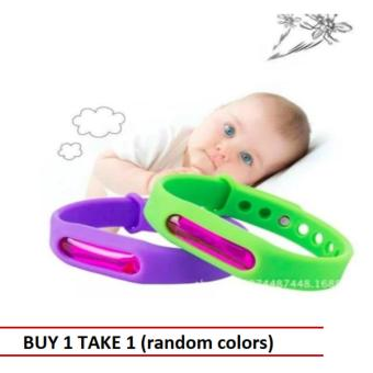 Mosquito Repellent Bracelet Wristband Adjustable Silicone (Buy 1 Take 1)