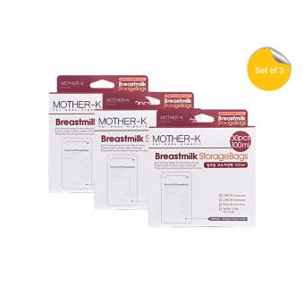 Mother K Breastmilk Storage Bags 100ml (Pack of 3) Price Philippines