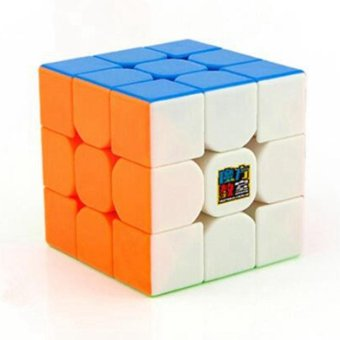 MoYu Cubing Classroom MoFangJiaoShi MF3RS 3x3 Speed Magic Cube Puzzle Brain Teasers, Bright Stickerless - intl
