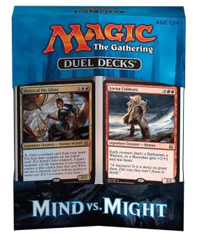 Mtg Magic The Gathering 2017 Duel Decks Mind Vs Might 120 Cards
