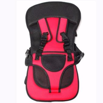 Multi-function Baby Car Cushion (Red)