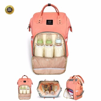 Mummy Maternity Nappy Diaper Bag Large Capacity Baby Bag TravelBackpack - intl