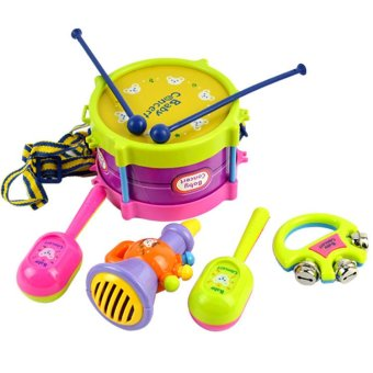 Musical Educational Instruments Toys 5-piece Set