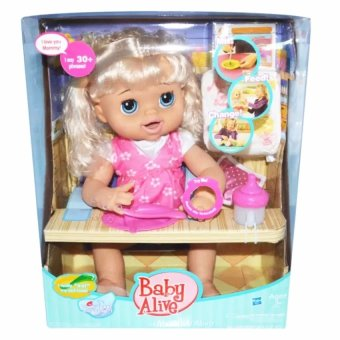 My Baby Alive Talking Doll Feed Poop And Change Diaper (Pink) - 2