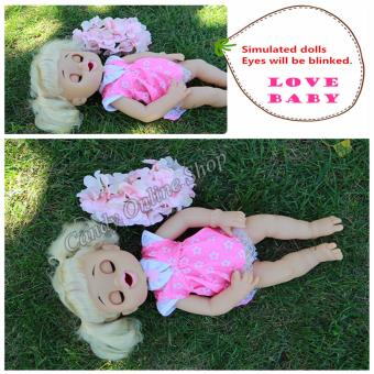 My Baby Alive Talking Doll Feed Poop And Change Diaper (Pink) - 5