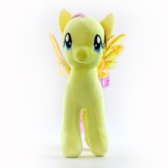 My Little Pony pony Baoli rainbow plush toy doll(yellow 18cm) - intl Price Philippines