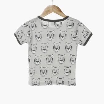 Nap Baby Boys Tigers Pajama Set (Gray) - 3