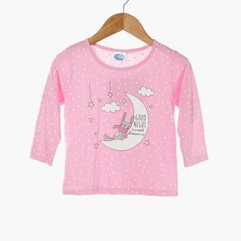 Nap Baby Girls Good Night Pajama Set (Pink) - 2